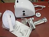 Электромясорубка ROTEX RMG100-W (реверс) 1000W, фото 2