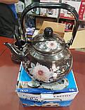 Чайник эмалированный FRICO FRU-787 2.0 л (подвижная ручка), фото 2