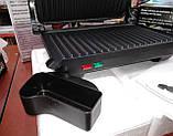 Прижимной контактный гриль WimpeX WX1055 (барбекю-электрогриль) 1000W, фото 5