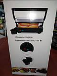 Прижимной контактный гриль WimpeX WX1055 (барбекю-электрогриль) 1000W, фото 10