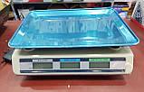Весы торговые WimpeX WX5003 до 50 кг электронные (счетчик цены, двойное табло), фото 6