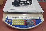 Весы торговые со стойкой до 40 кг PROMOTEC PM5052 (металл платформа, 6V), фото 3