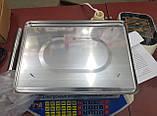 Весы торговые со стойкой до 40 кг PROMOTEC PM5052 (металл платформа, 6V), фото 5