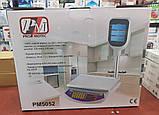 Весы торговые со стойкой до 40 кг PROMOTEC PM5052 (металл платформа, 6V), фото 10