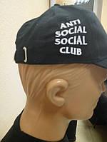 Черная кепка Anti Social Social Club