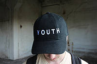 Черная кепка Youth