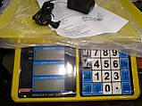 Весы торговые MATRIX MX-412 до 50 кг (счетчик цены), фото 3
