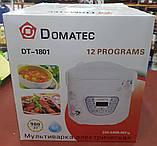 Мультиварка Domotec DT-1801 6 л, 12 программ (900W), фото 2