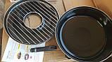 Сковорода гриль-газ с мраморным покрытием WESTORM RG 32 см, фото 3
