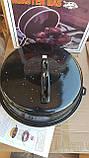 Сковорода гриль-газ с мраморным покрытием WESTORM RG 32 см, фото 5