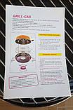 Сковорода гриль-газ с мраморным покрытием WESTORM RG 32 см, фото 6