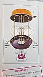 Сковорода гриль-газ с мраморным покрытием WESTORM RG 32 см, фото 7