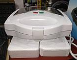 Тостер универсальный WimpeX WX1057 (3 в 1) бутербродница гриль, вафельница, сэндвичница , фото 9