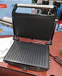 Электрический гриль Pure Angel PA-5404 c терморегулятором (барбекю-электрогриль), фото 8
