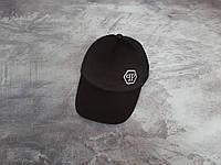 Чорна кепка Philipp Plein (Філіп Плейн), фото 1