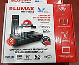 Эфирная цифровая приставка для телевизора DVB-T2 Lumax DV2118HD (WiFi / USB / FullHD), фото 2
