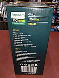 Бутербродница электрогриль Rainberg RB-640 (1500W), фото 9