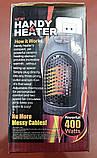 Портативный керамический обогреватель Handy Heater (400W), фото 6