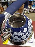 Чайник со свистком A-PLUS WK-1376 3 л. (нержавеющая сталь), фото 6