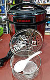 Мультиварка-скороварка VITALEX VL-5202 (16 програм) + фритюрниця, фото 3