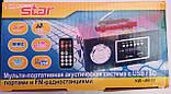 Портативная MP3 колонка Star SR-8931 (USB/FM/SDcard/пульт ДУ), фото 6