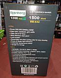 Бутербродница, вафельница, сэндвичница (3 в 1) Rainberg RB-642 (1500W), фото 10