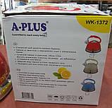 Чайник зі свистком A-PLUS WK-1372 3 л. (нержавіюча сталь), фото 6