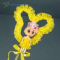 Світяться палички Лялечки з Міккі светяшки жовті, фото 2