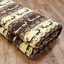 Одеяло двухслойное из овчины полуторное 150х215, фото 3