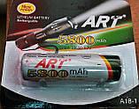 Акумулятор ART 18650 Li-ion 5800mAh 3.7 V, фото 2