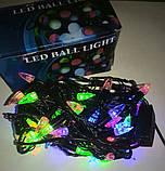 Гирлянда светодиодная Свечи 100 (LED) ламп, фото 4