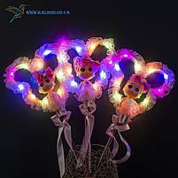 Світяться палички Лялечки з Міккі светяшки рожеві, фото 2