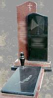Памятники из красного и черного гранита, фото 1