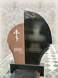 Памятники из красного и черного гранита, фото 4