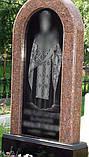 Памятники из красного и черного гранита, фото 5
