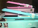 Щипцы гофре для волос ProMozer MZ-7040A (керамика), фото 8