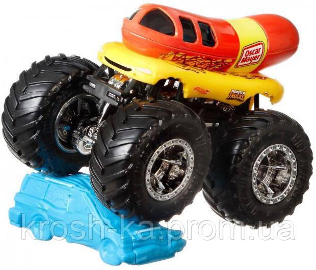 Машина детская Внедорожник серии Monster Trucks Hot Wheels FYJ44