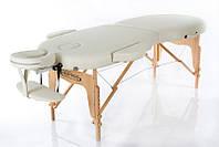Массажный стол  деревянный переносной RESTPRO VIP OVAL 2 Бежевый