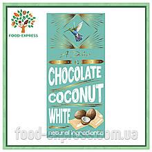 Білий шоколад з кокосом, 90г