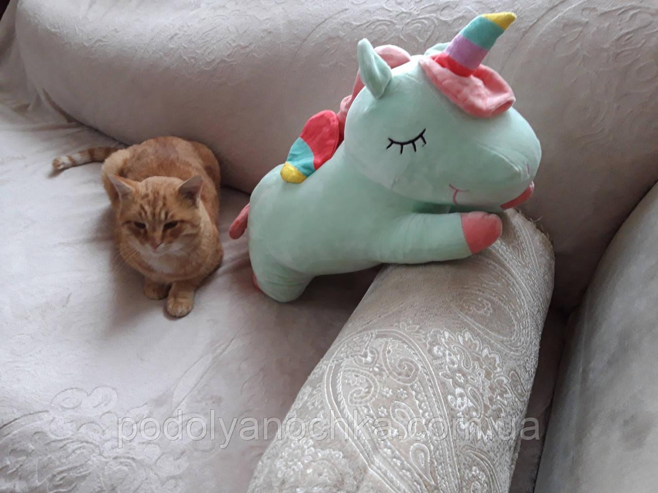 Іграшка-плед-подушка Єдиноріг🦄