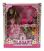 Кукла Барби аналог с одеждой и аксессуарами 33х27х5см