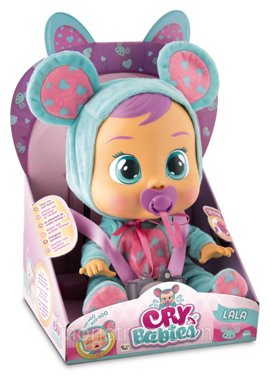 Интерактивная кукла пупс Cry Babies Lala Baby Doll Плачущий младенец Лала