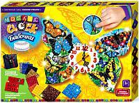 Мозаичные часы Бабочки (Сделай Сам), ТМ Danko Toys, фото 1