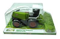 Инерционный игрушечный трактор игрушка в слюде 41х18,5х26см