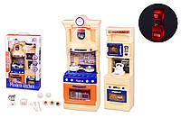 Игровой набор кухня игрушка для детей LS322-21 (1944887) свет звук газ плита мойка посуда в кор. 37,9*23,7*8,5