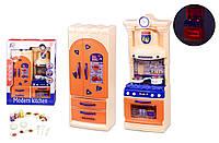 Игровой набор кухня игрушка для детей LS322-23 (1944889) свет звук газ плита мойка посуда в кор. 27,6*8,5*37,9