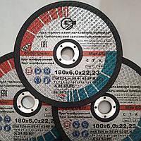 Зачистные круги по металлу 180×6мм ЗАК