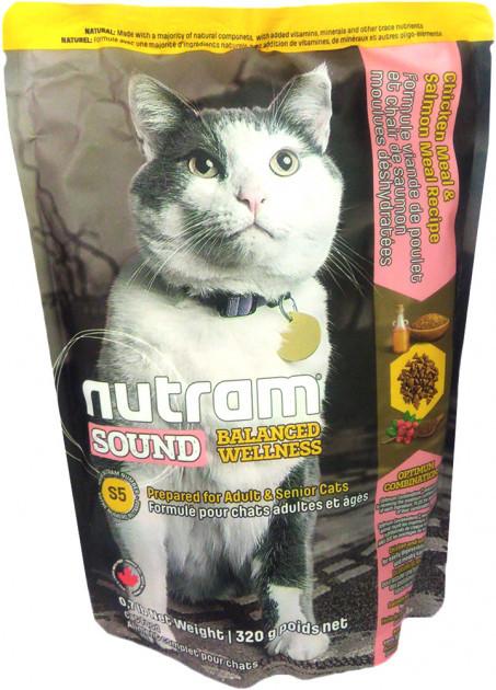 S5 NUTRAM Urinary Cat 320g. Сухой корм для взрослых котов Уринари. Профилактика МКБ