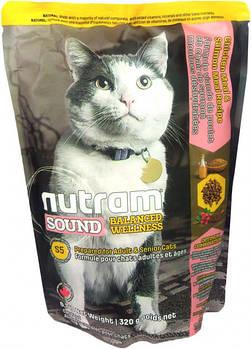 Сухой корм для кошек Уринари (профилактика моче-каменной болезни) S5 NUTRAM Urinary Cat 320 г