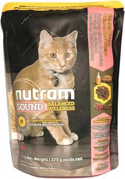 Сухой корм для котят, беременных и лактирующих кошек S1 Nutram Kitten 320 г